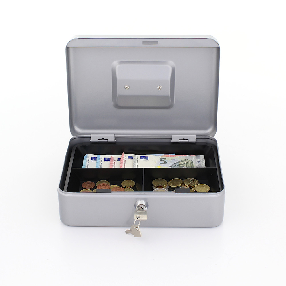 Rottner Cash Box Traun 3 Silver