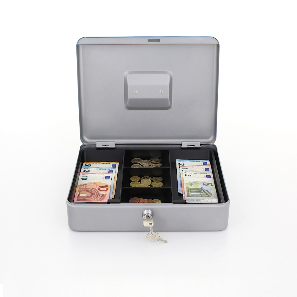 Rottner Cash Box Traun 4 Silver