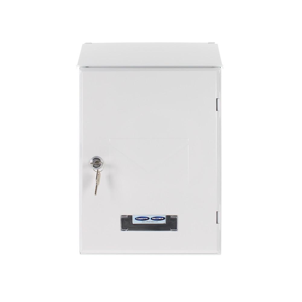 Rottner Pisa White Mailbox
