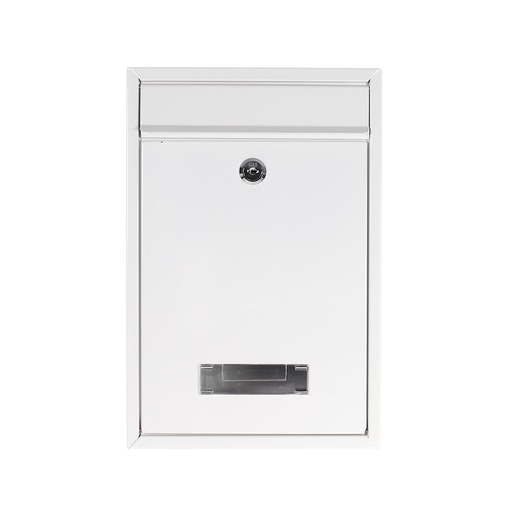 Rottner Tarvis White Letterbox