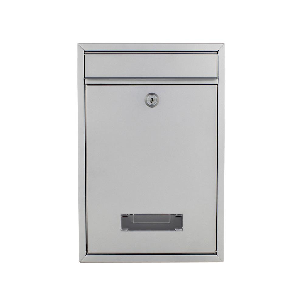 Rottner Tarvis Silver Letterbox