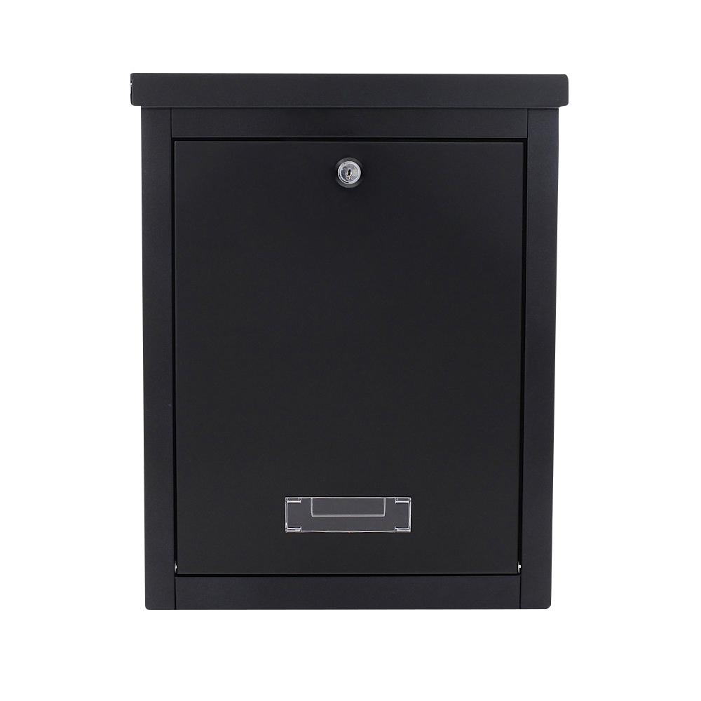 BRIGHTON Black Letterbox