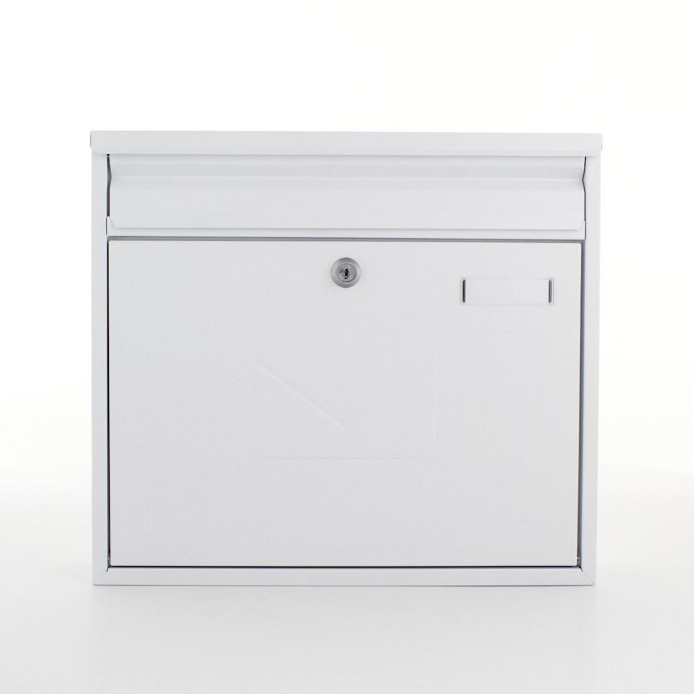 TERAMO White Letterbox