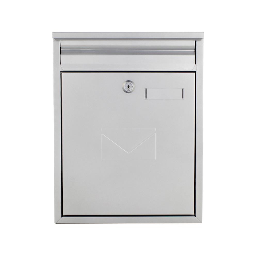 Rottner Como Silver Mailbox