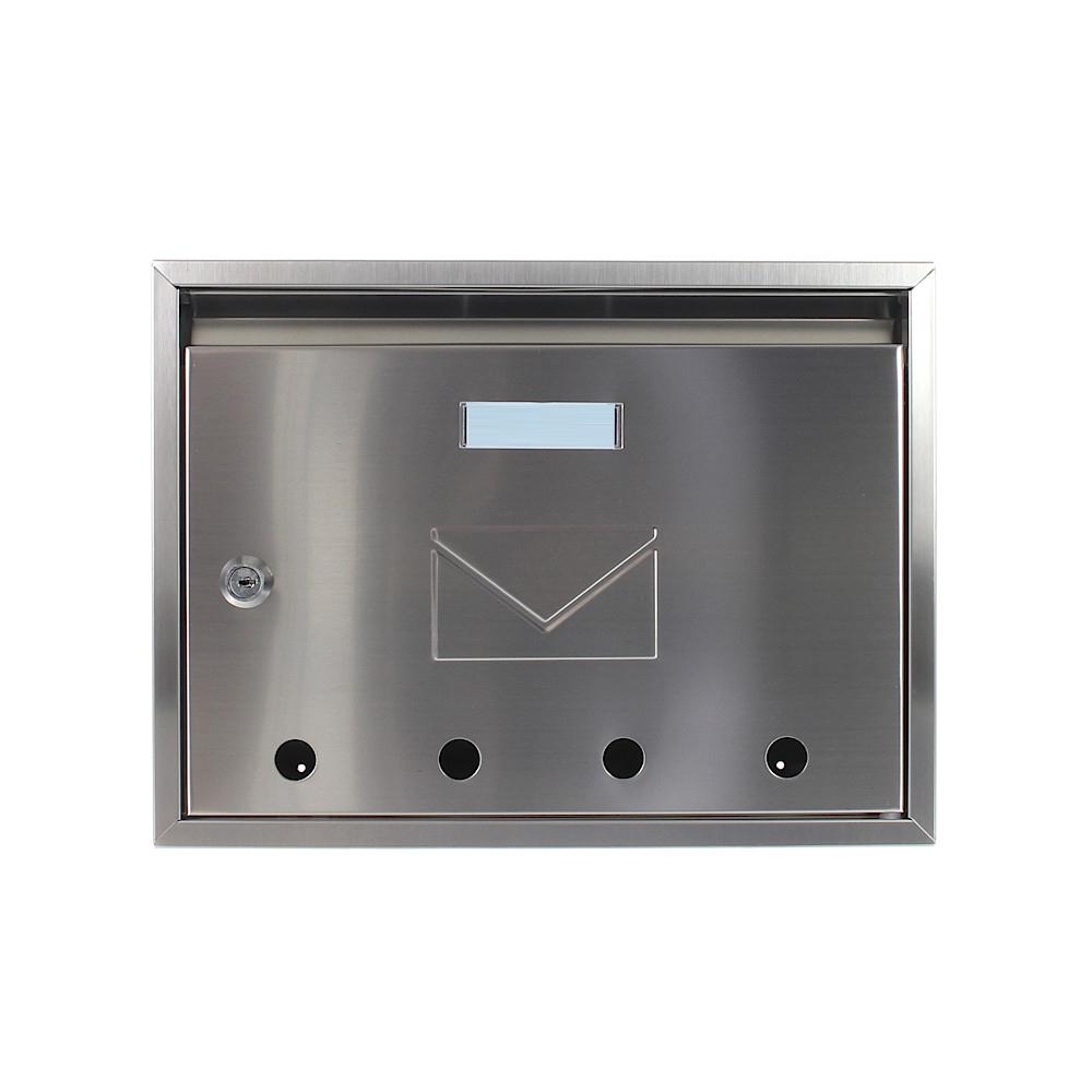 Rottner Imola Stainless Steel Mailbox