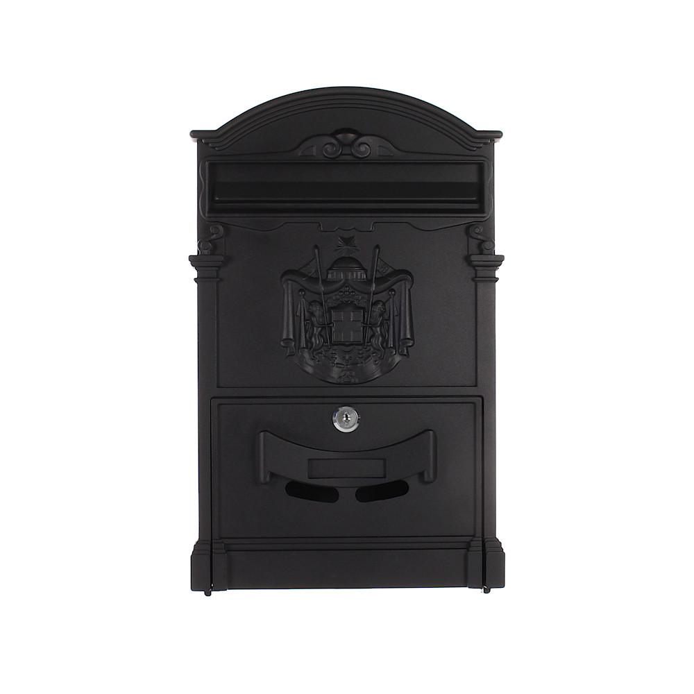 Rottner Ashford Black Letterbox