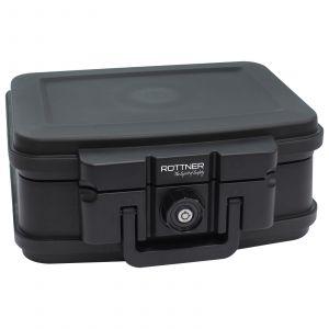 Rottner Feuerschutzkassette FIRE DATA BOX 1 schwarz